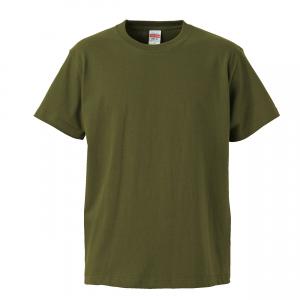 5.6オンスハイクオリティーTシャツ(シティグリーン)
