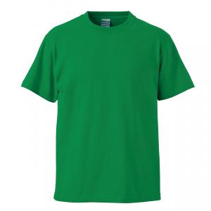 5.6オンスハイクオリティーTシャツ(グリーン)