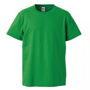 5.6オンスハイクオリティーTシャツ(ブライトグリーン)