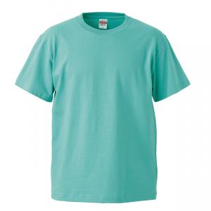 5.6オンスハイクオリティーTシャツ(ミントグリーン)
