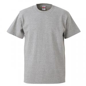 5.6オンスハイクオリティーTシャツ(ミックスグレー)