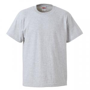 5.6オンスハイクオリティーTシャツ(アッシュ)