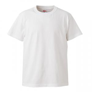 5.6オンスハイクオリティーTシャツ(ホワイト)