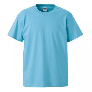 5.6オンスハイクオリティーTシャツ(アクアブルー)