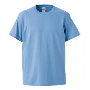 5.6オンスハイクオリティーTシャツ(サックス)