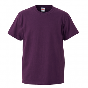 5.6オンスハイクオリティーTシャツ(マットパープル)