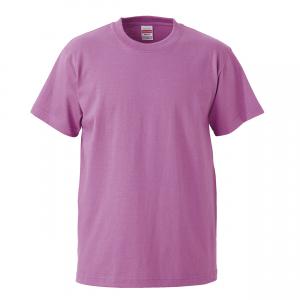 5.6オンスハイクオリティーTシャツ(ラベンダー)