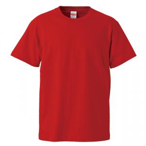 5.6オンスハイクオリティーTシャツ(レッド)