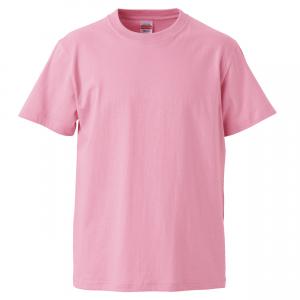 5.6オンスハイクオリティーTシャツ(ピンク)