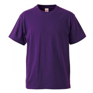 5.6オンスハイクオリティーTシャツ(パープル)