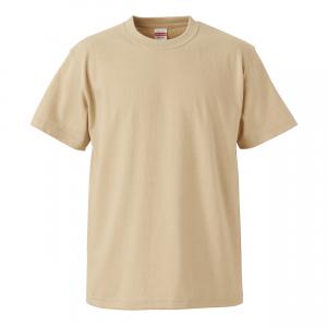 5.6オンスハイクオリティーTシャツ(ライトベージュ)