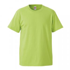 5.6オンスハイクオリティーTシャツ(ライムグリーン)