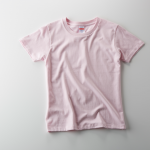 5.6オンスハイクオリティーTシャツ、ガールズサイズ(ライトピンク)