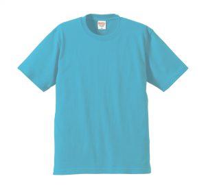 6.2オンスプレミアムTシャツ (アクアブルー)