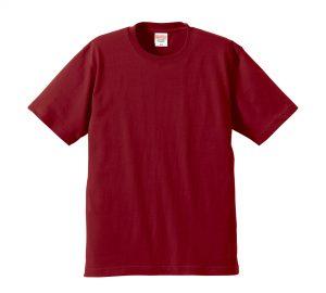 6.2オンスプレミアムTシャツ (バーガンディ)