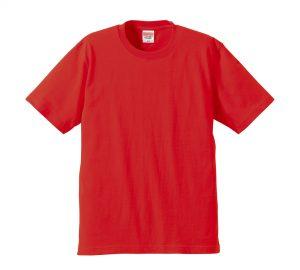 6.2オンスプレミアムTシャツ (レッド)