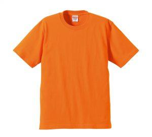 6.2オンスプレミアムTシャツ (オレンジ)