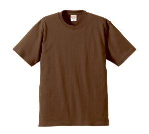 6.2オンスプレミアムTシャツ (ダークブラウン)