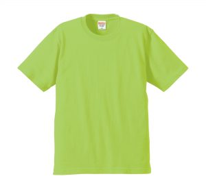 6.2オンスプレミアムTシャツ (ライムグリーン)
