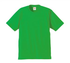 6.2オンスプレミアムTシャツ (ブライトグリーン)