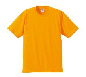 6.2オンスプレミアムTシャツ (ゴールド)