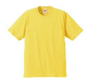 6.2オンスプレミアムTシャツ (イエロー)