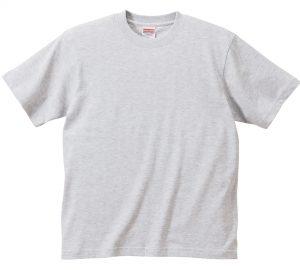 6.2オンスプレミアムTシャツ (アッシュ)