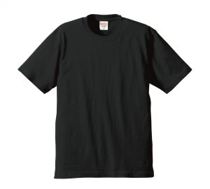 6.2オンスプレミアムTシャツ (ブラック)