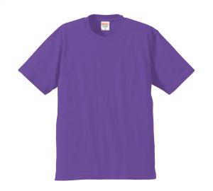 6.2オンスプレミアムTシャツ (バイオレットパープル)