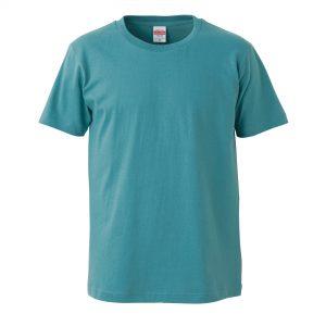 5.0オンスレギュラーフィットTシャツ (セージブルー)