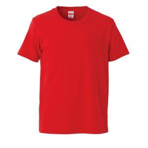 5.0オンスレギュラーフィットTシャツ (フレンチレッド)