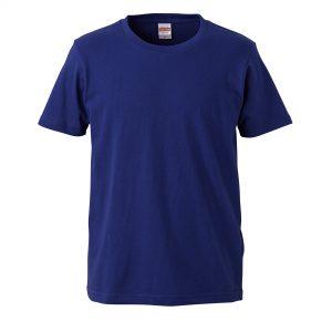 5.0オンスレギュラーフィットTシャツ (ナイトブルー)