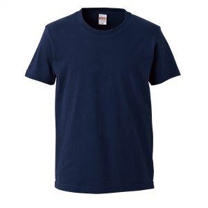 5.0オンスレギュラーフィットTシャツ (インディゴ)