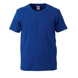 5.0オンスレギュラーフィットTシャツ (ロイヤルブルー)