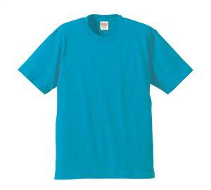 6.2オンスプレミアムTシャツ (ターコイズブルー)
