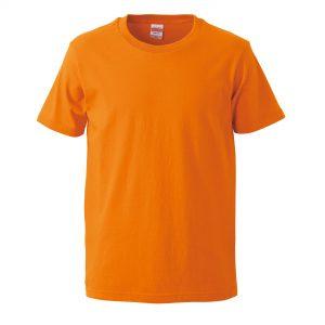 5.0オンスレギュラーフィットTシャツ (オレンジ)