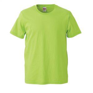 5.0オンスレギュラーフィットTシャツ (ライムグリーン)