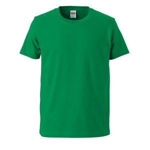 5.0オンスレギュラーフィットTシャツ (グリーン)