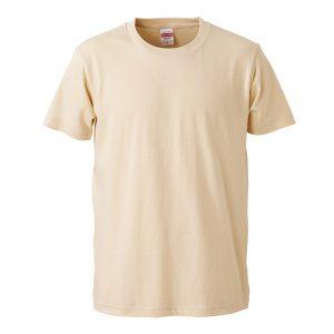 5.0オンスレギュラーフィットTシャツ (ナチュラル)