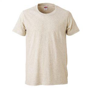 5.0オンスレギュラーフィットTシャツ (オートミール)