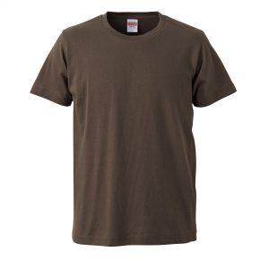 5.0オンスレギュラーフィットTシャツ (チャコール)