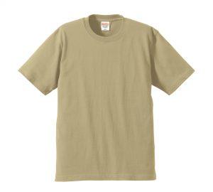 6.2オンスプレミアムTシャツ (サンドカーキ)