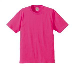 6.2オンスプレミアムTシャツ (トロピカルピンク)