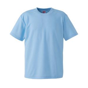 4.1オンスドライTシャツ(ライトブルー)