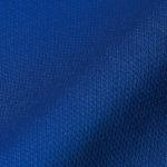 4.7オンスドライロングスリーブTシャツ(コバルトブルー)の表面生地の拡大画像