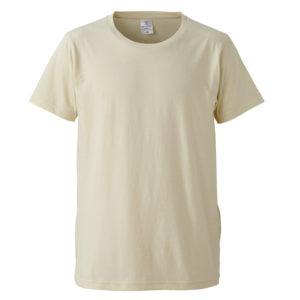 4.7オンスファインジャージーTシャツ(ナチュラル)