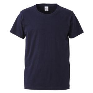 4.7オンスファインジャージーTシャツ(ネイビー)