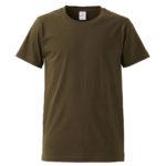 4.7オンスファインジャージーTシャツ(OD)