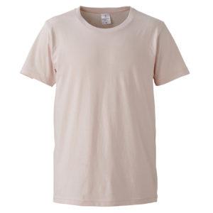 4.7オンスファインジャージーTシャツ(ベビーピンク)