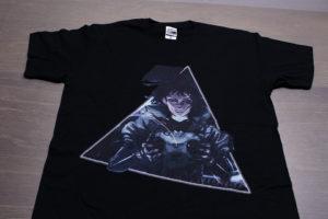 インクジェットプリントTシャツのサンプル写真